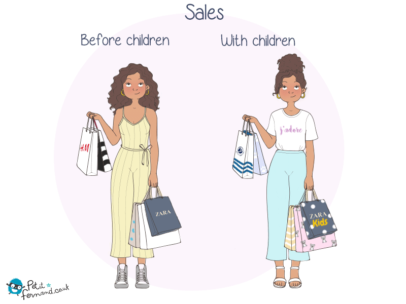 Sales are different when you are a parent!