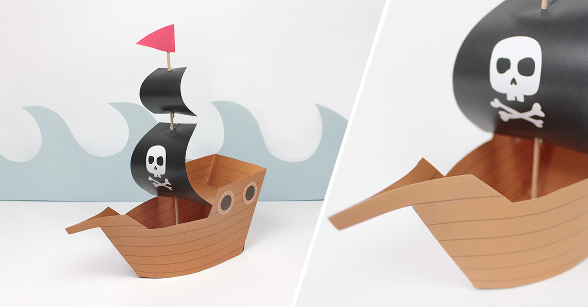 Set course to the adventure with this 100% pirate DIY!