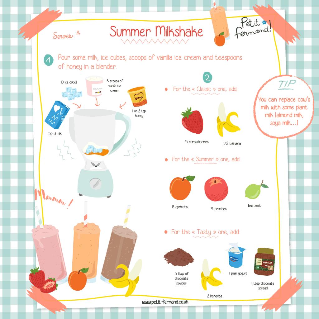 Summer milkshake