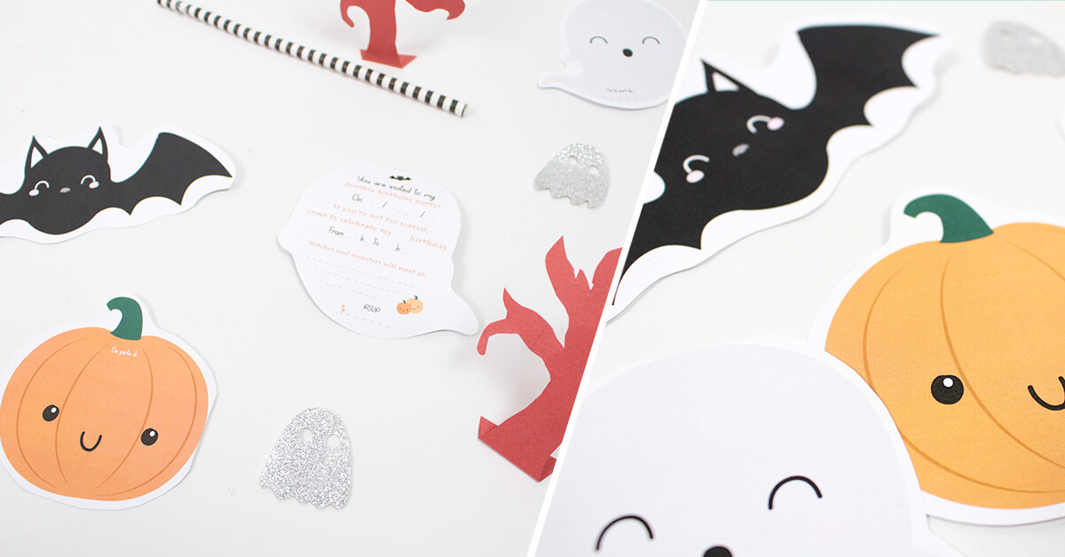 Follow a few steps to make those terrifying invitations