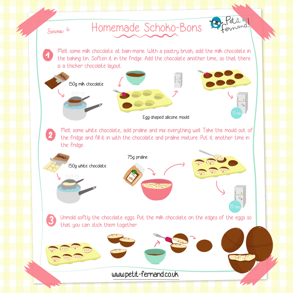Treat yourself with this homemade Choco-bons recipe!