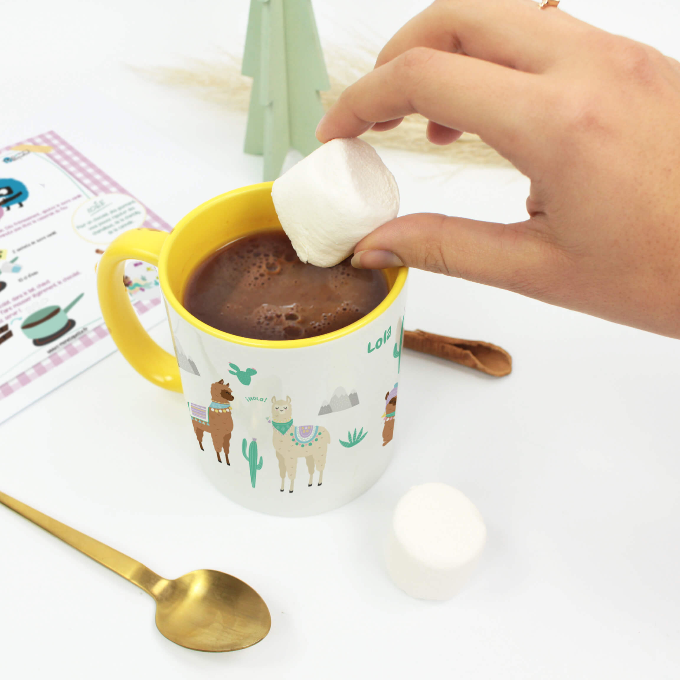 Take a delicious break with our traditional homemade hot chocolate