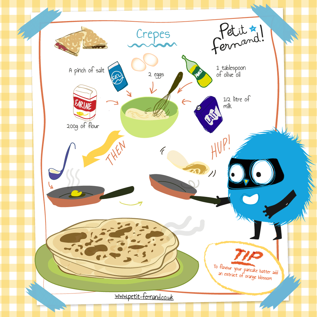 Crepe party? Obviously!