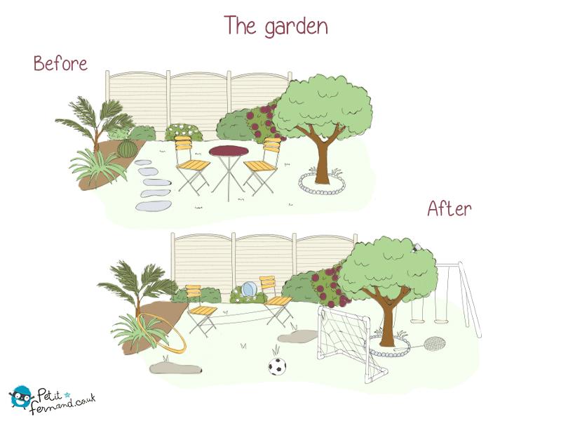 As warmer days start so ends nice garden.