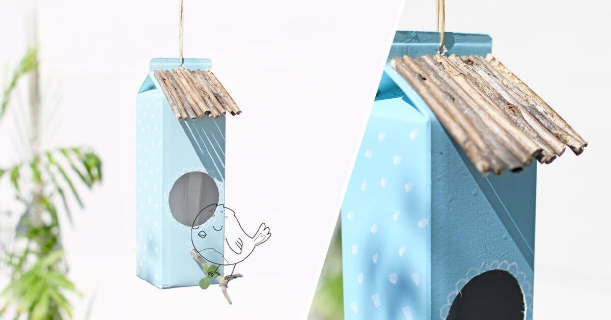 Spring celebration: a homemade bird nest!
