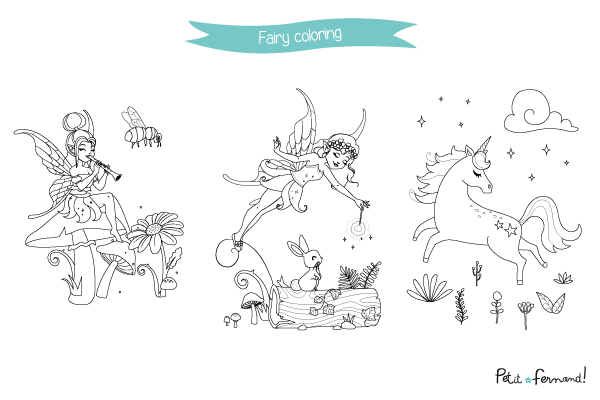 Looking for some activities to keep your kids busy during holidays? Download our free fairytale coloring!