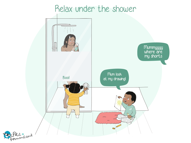 When we become a parent, we can often say goodbye to privacy, even in the bathroom!
