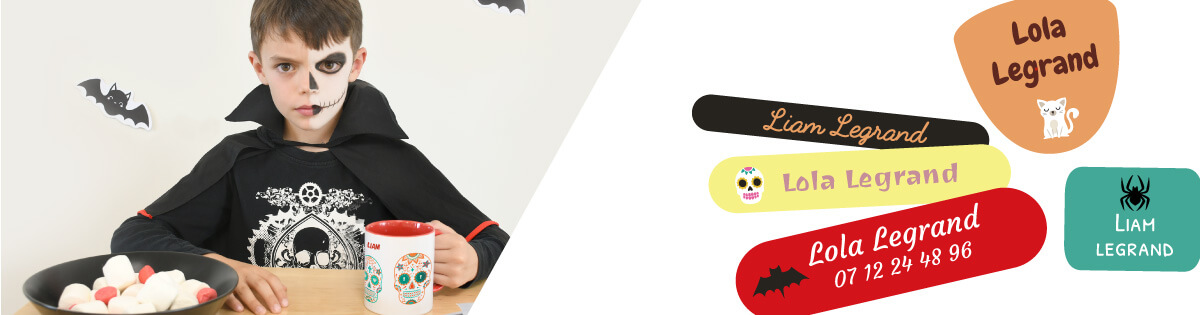 Scary Halloween masks to collect maximum candy !