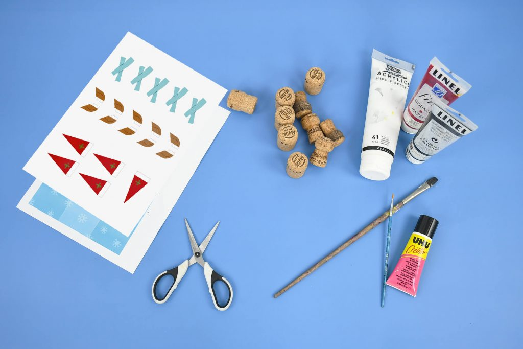 Noughts and crosses DIY Winter edition for young and old!