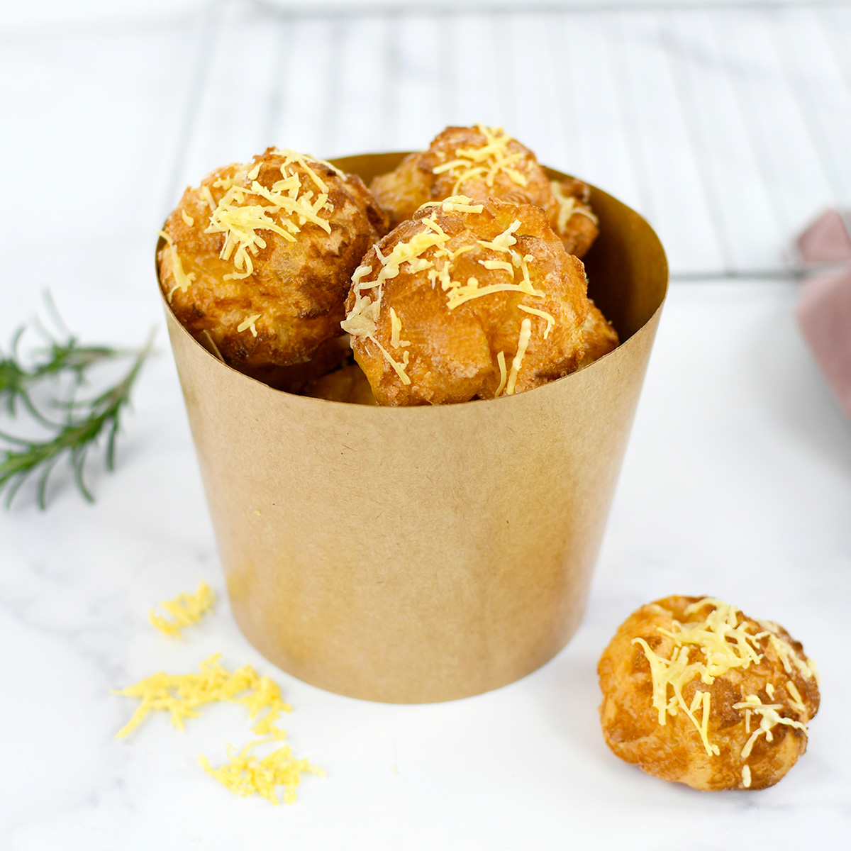 Quick and easy Gougeres recipe perfect for family time cooking!