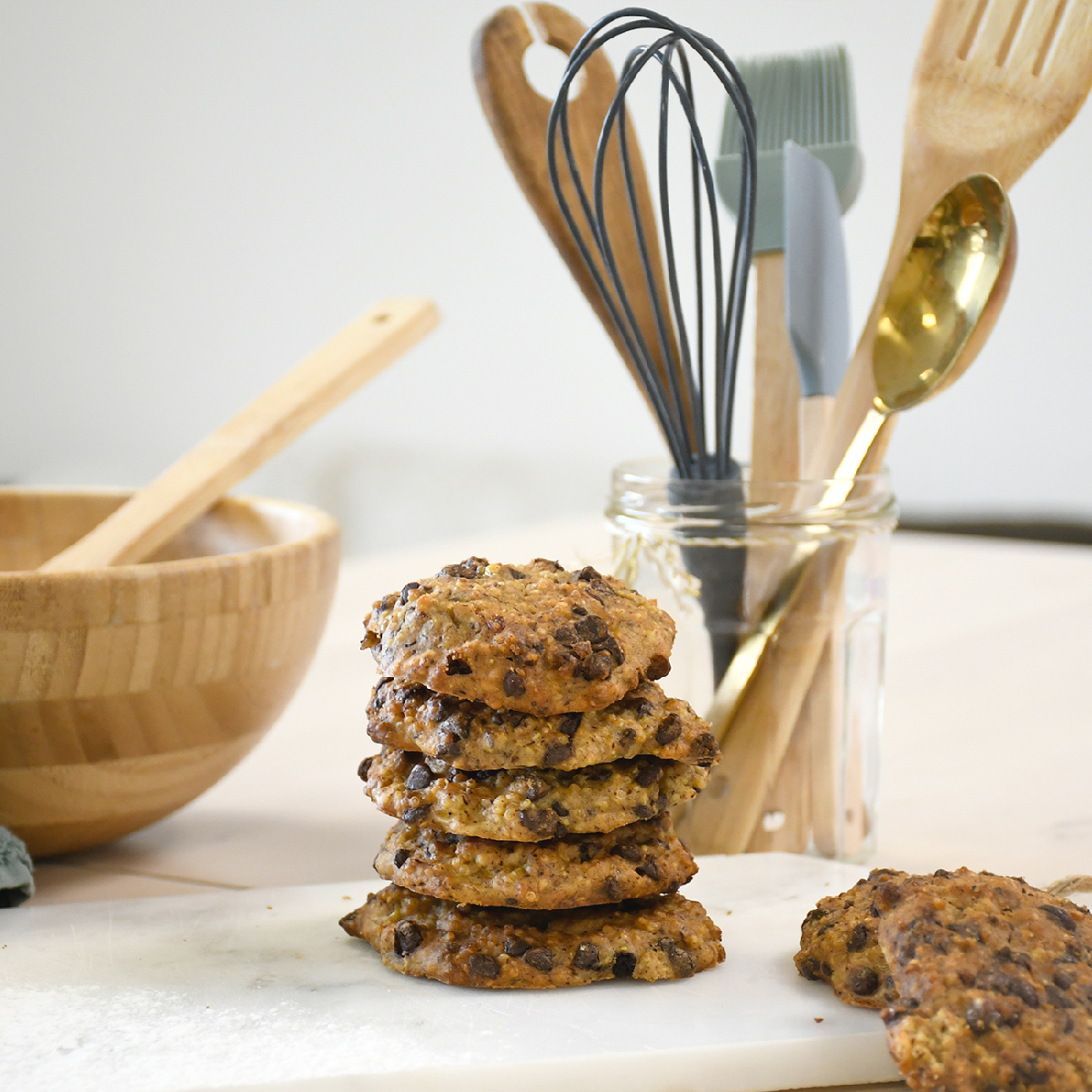 Dare to innovate with our quinoa chocolate chip cookies recipe.