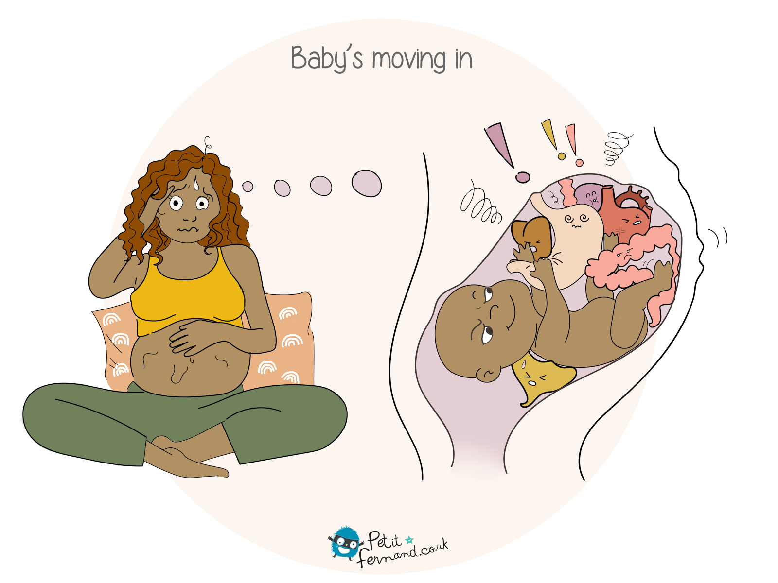 During your pregnancy, your baby moves in and your tummy becomes an entire playground!