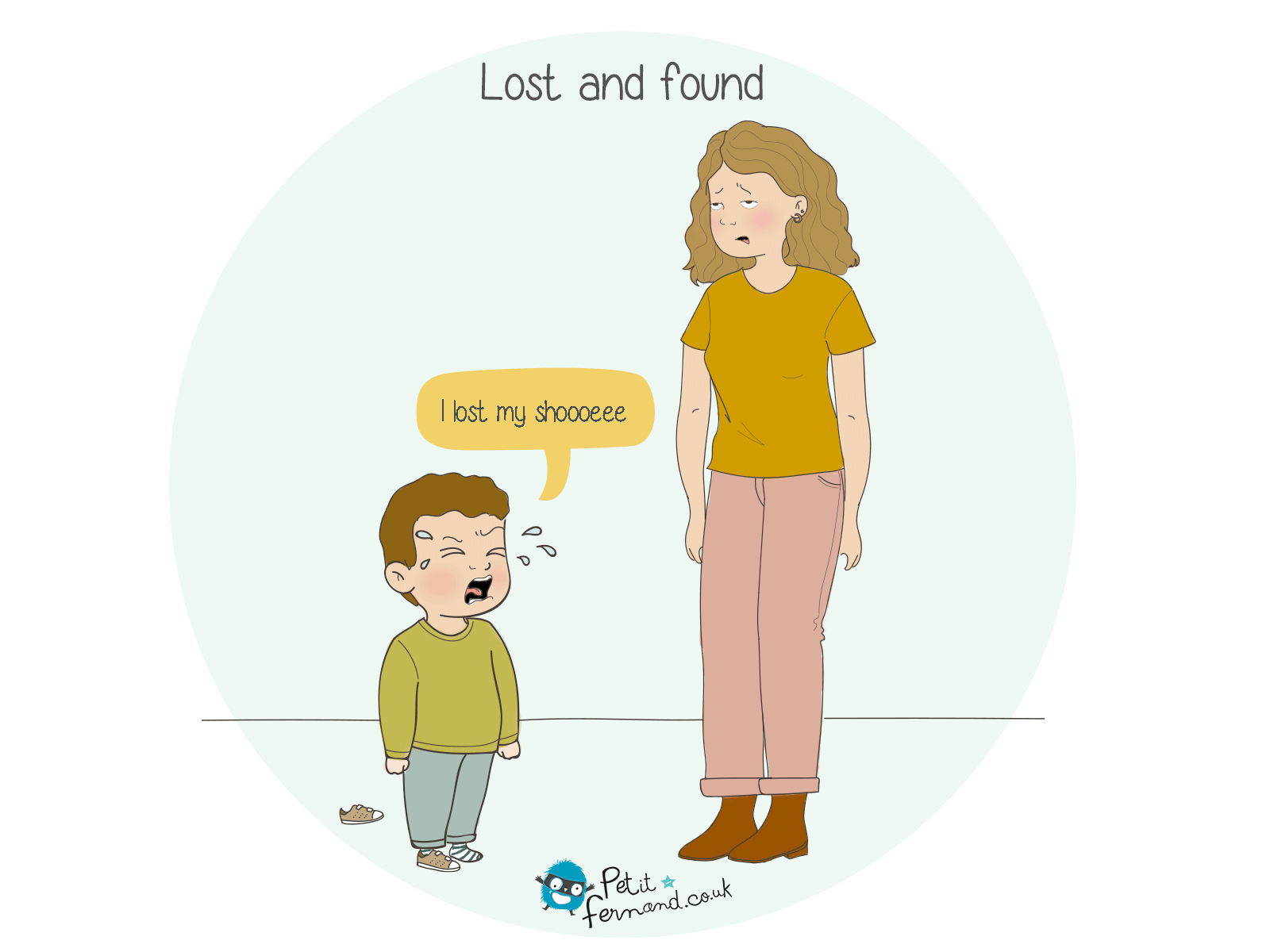 When you're a mom, you know you have the super power to find lost things!