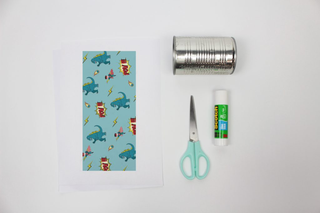 Recycle your cans and create some pencil holders to organise your kids' desks!
