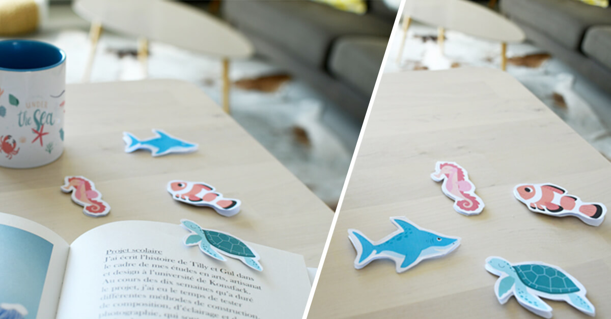 Discover our sea animal bookmarks, great reading companions for your kids..