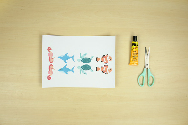 Discover our sea animal bookmarks, great reading companions for your kids.