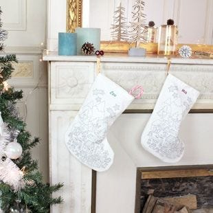 Personalized Christmas Stockings.Customisable Christmas Stocking